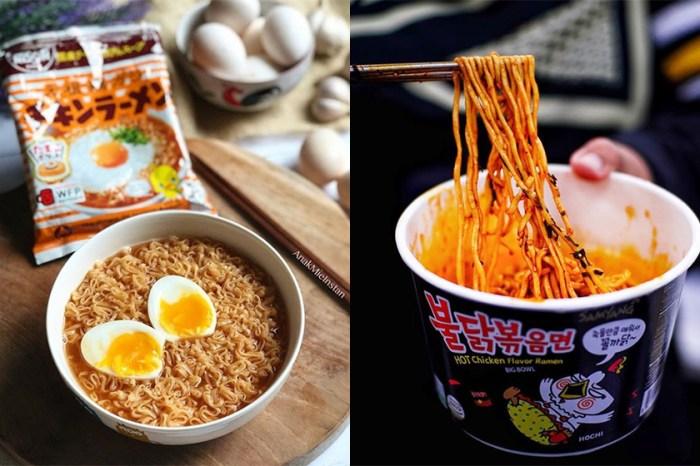 全球「最受歡迎公仔麵」 Top 10 排行榜出爐,吃貨表示全都想試!