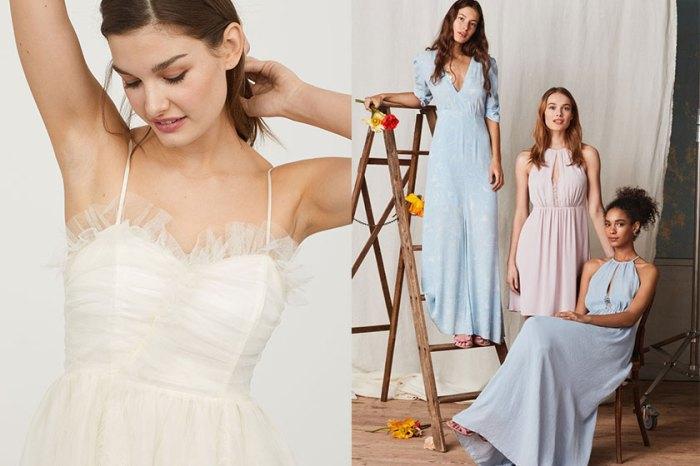 為小資女而設:H&M 推出婚嫁系列,無論新娘、伴娘或賓客都可找到平價卻高質的單品!