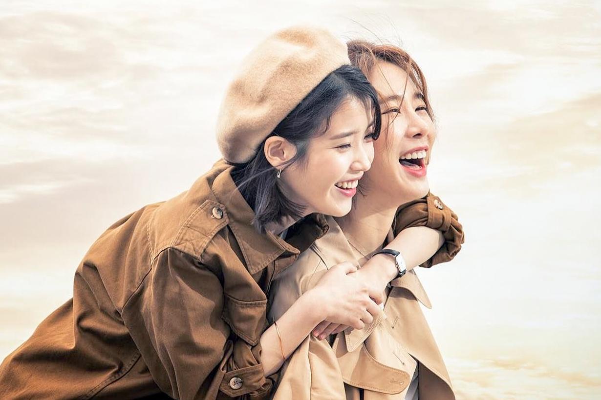相差 11 歲也無妨!看過 IU 和劉仁娜的情感,才能懂什麼是真正的「好姐妹」!