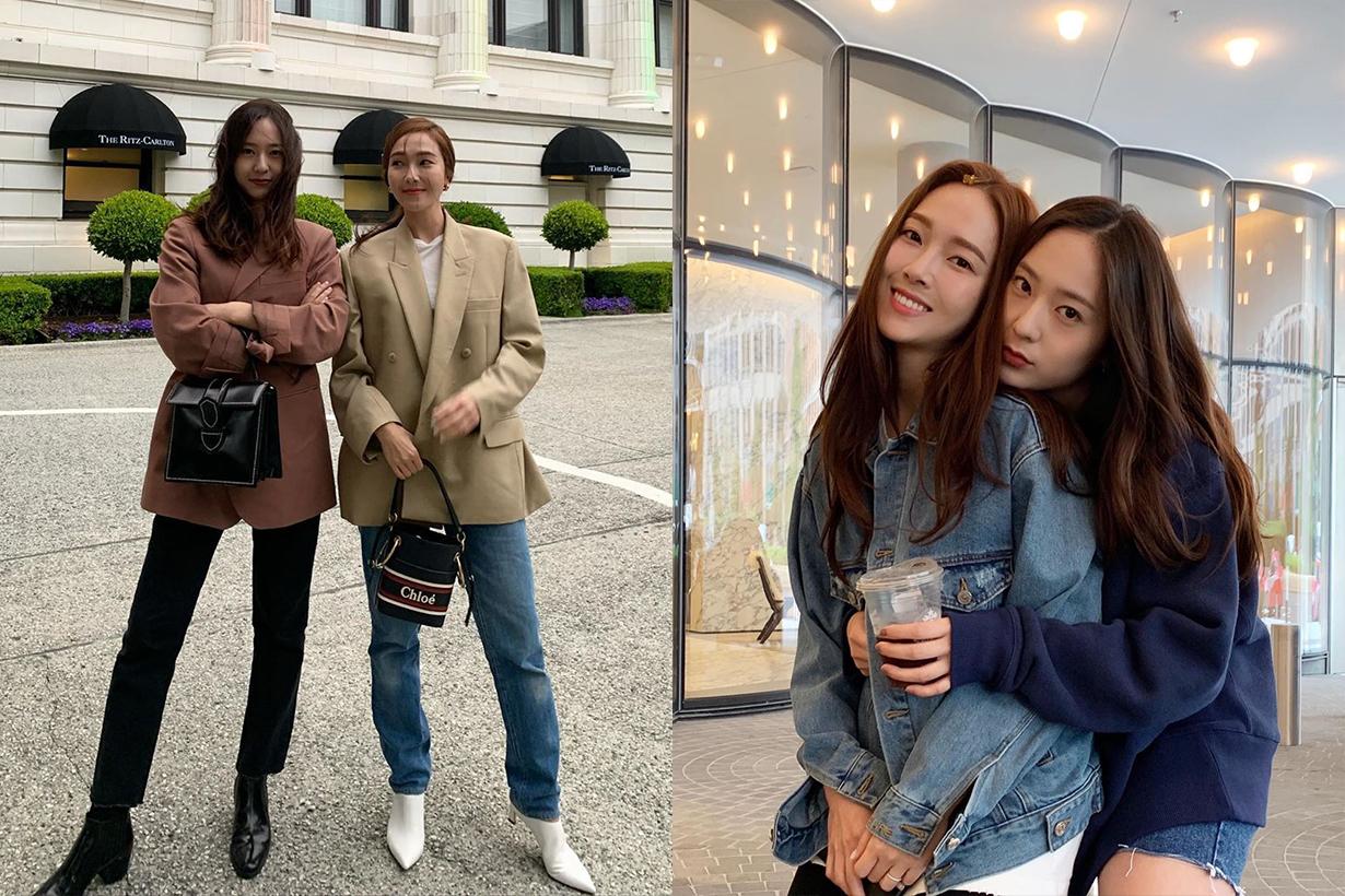 Jessica Jung Krystal Jung w magazine fashion sister