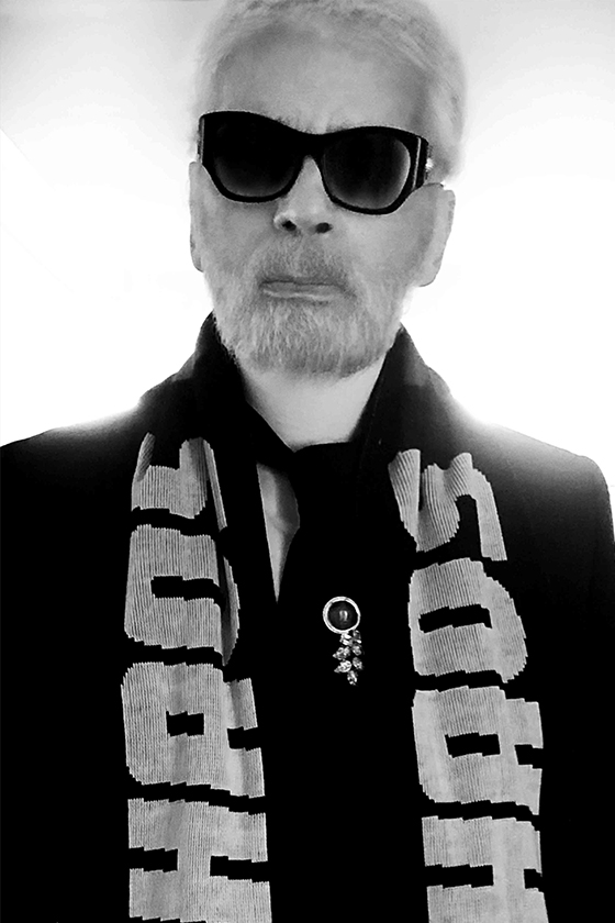 Karl Lagerfeld 跟 Numéro Magazine 訪問