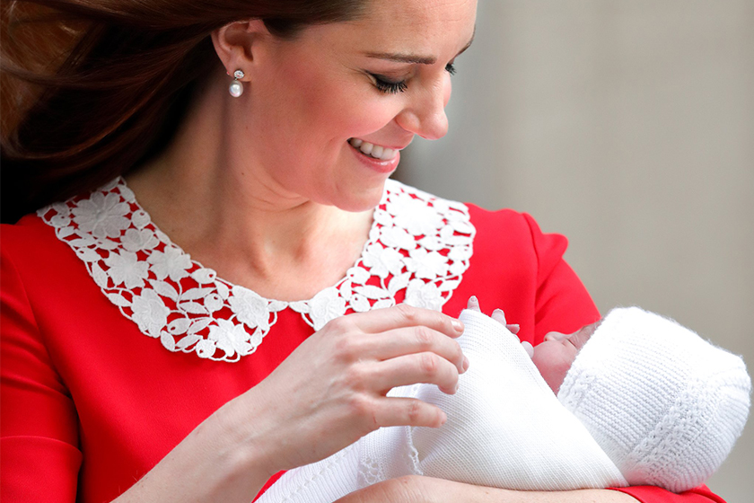 Prince Louis Arthur Charles kate middleton prince william royal baby name announcement