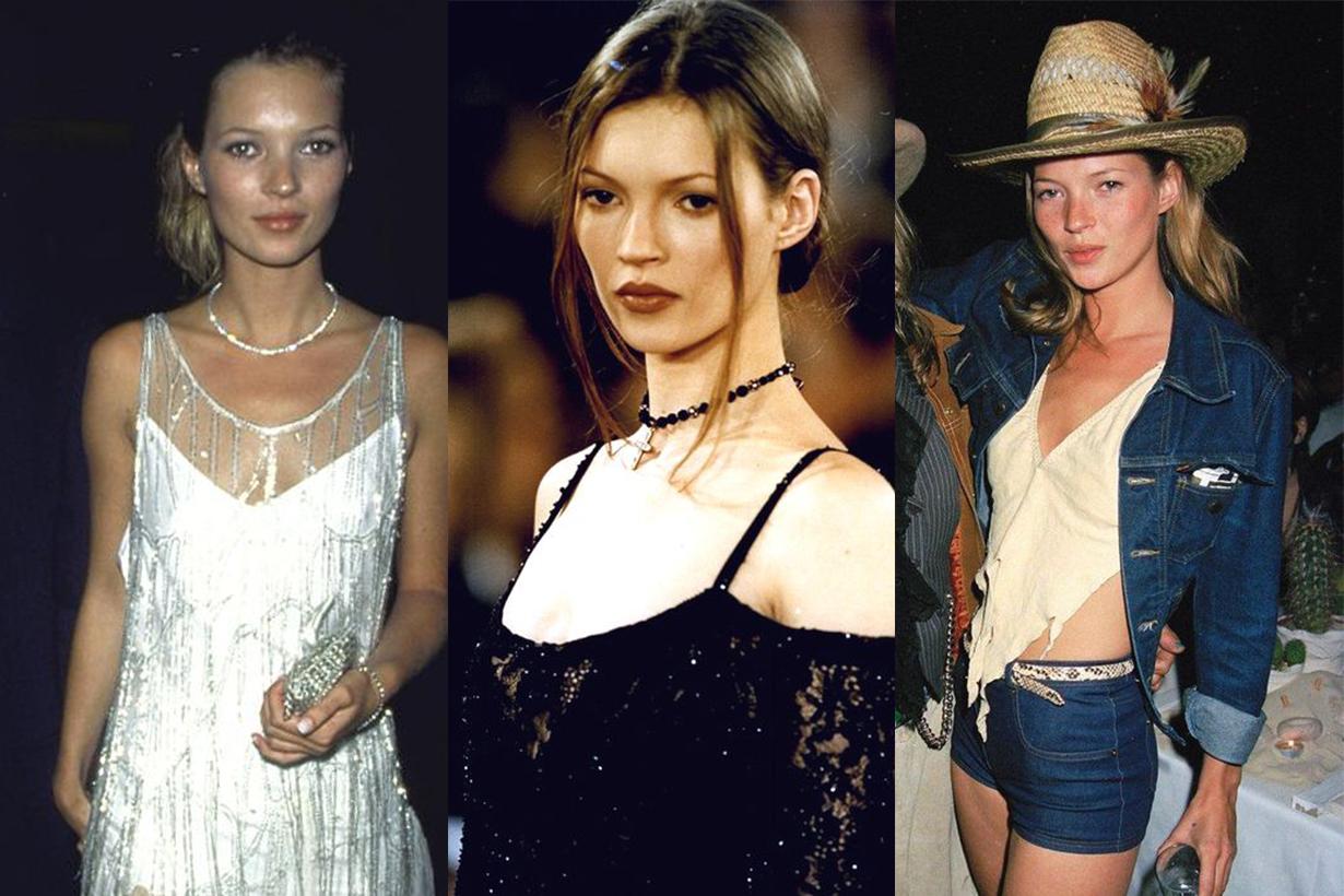 Kate Moss 8 大時裝標記,會明白她如何以叛逆姿態引領 90 年代風尚!