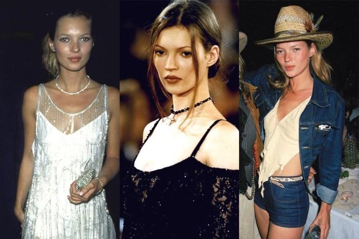 讀過 Kate Moss 這 8 大時裝標記,會明白她如何以叛逆姿態引領 90 年代風尚!