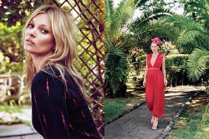 Kate Moss 出席德國王子婚禮的這 2 個造型,顯示她除了是名模更是專業的婚禮賓客!