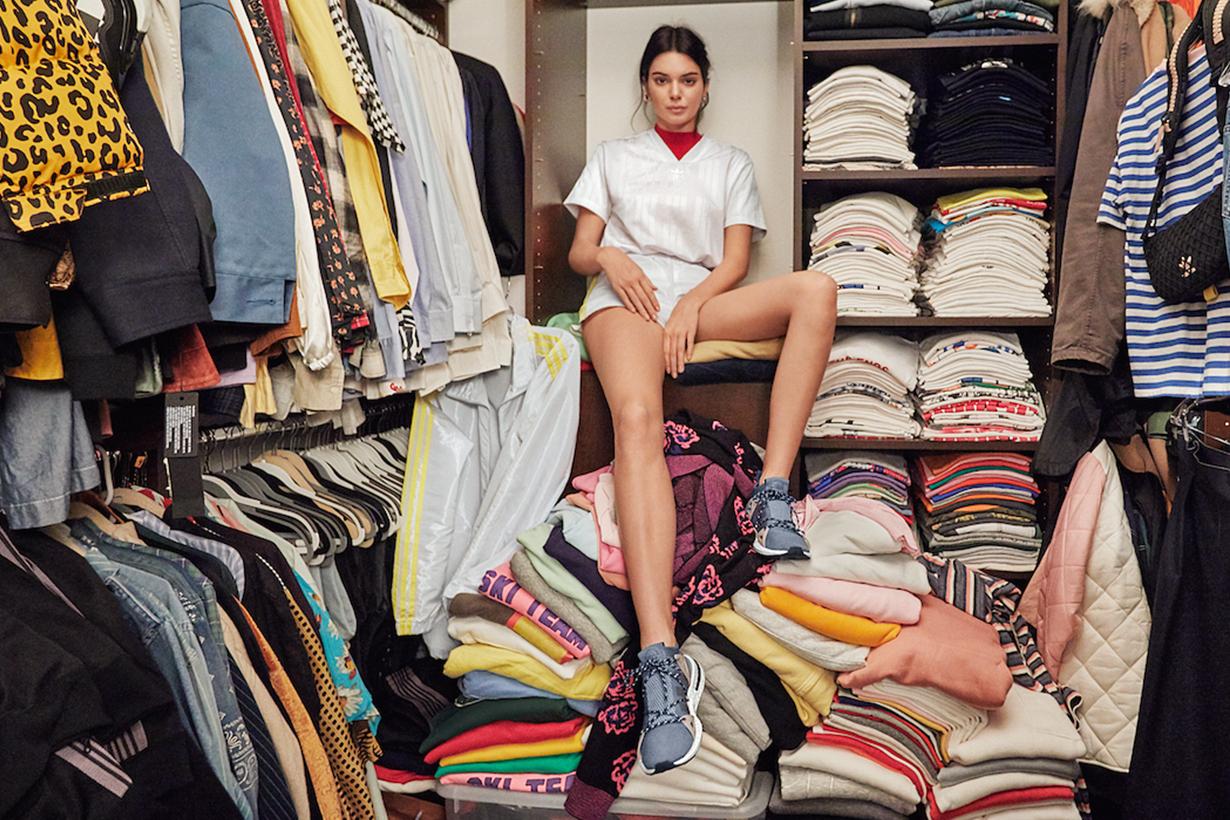 Kendall Jenner 紐約生活的公寓大公開,成堆的「衣服山」應該一輩子都穿不完吧...