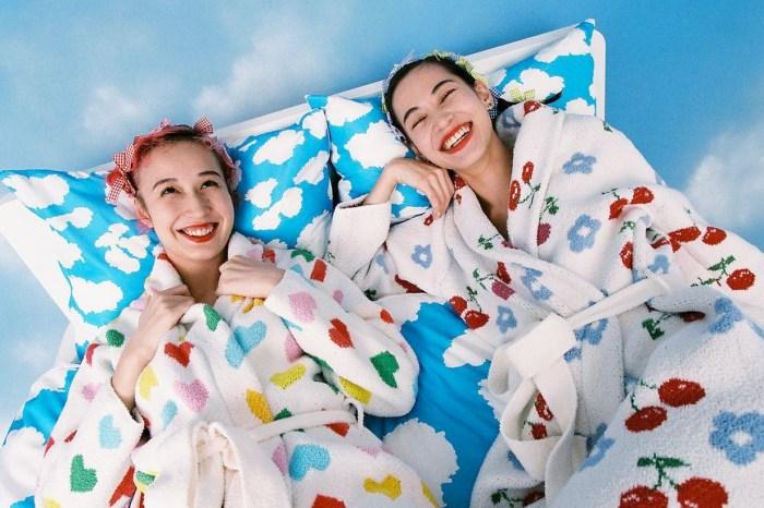 水原希子個人品牌「OK」新睡衣家居系列登場,歡迎進入她繽紛的異想世界!
