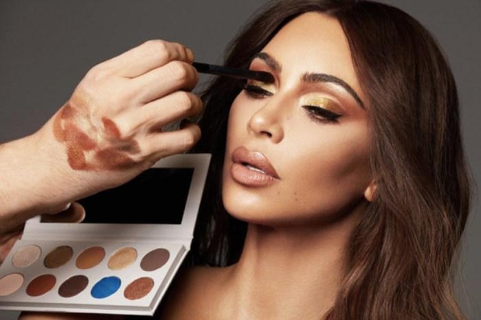 只是巧合?Kim Kardashian 最新 KKW 眼影盤再被指抄襲
