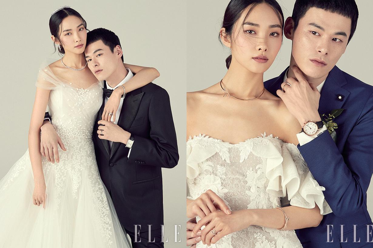 讓韓國這對潮模情侶示範  如何沒有背景道具都能拍出最時尚又親切的婚紗照