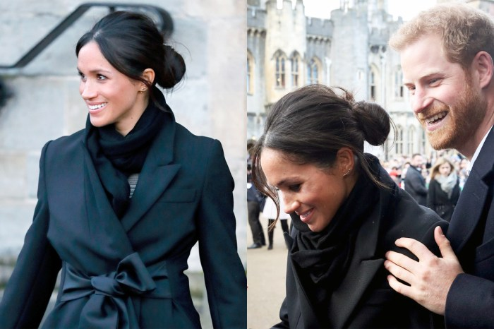 Meghan Markle 多次以 Messy Bun 髮型出席皇室場合,背後所傳達的到底是什麼訊息?