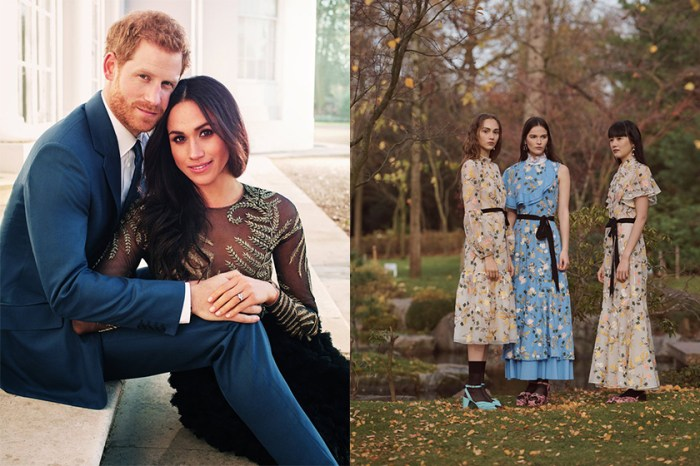 有答案了嗎?有傳皇室婚禮當天,Meghan Markle 將會穿上這個品牌的婚紗!