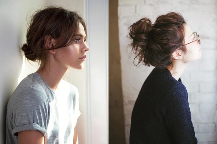 Messy Bun 髮型靈感 20+: 帶著氣質的慵懶感,為長髮女生而設的夏日髮型