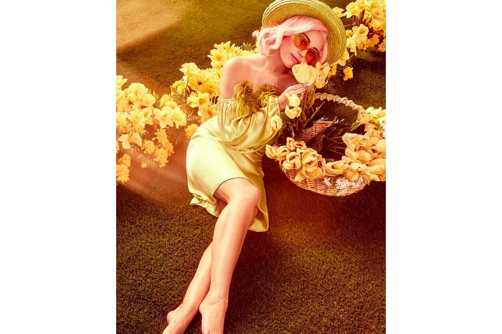 Miley Cyrus 復活節扮成性感兔女郎 其中一張照片有亮點 揭示了最新 Converse 聯名鞋