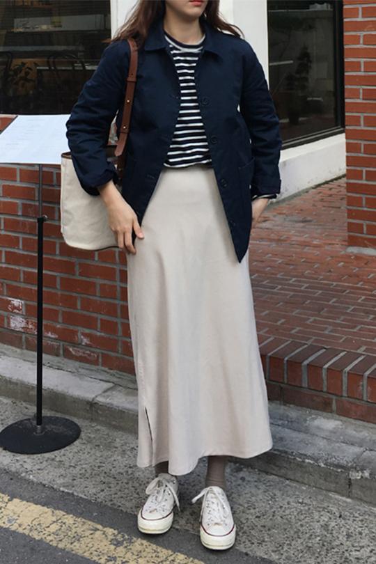 知性又簡約的韓國女生穿搭 Instagram 穿搭達人 ezysun