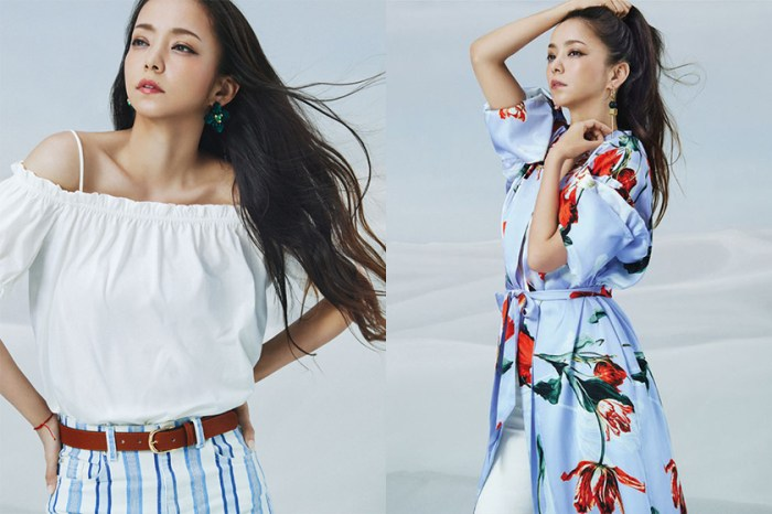 穿出天后一樣的時尚仙氣:安室奈美惠 X H&M 系列即日推出,所有單品與價錢大公開!