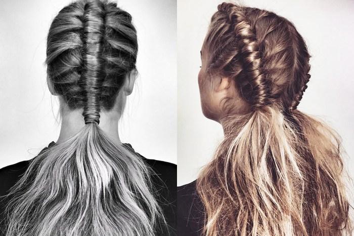 自問有一雙巧手的你,不妨挑戰一下外國最近很流行的 Pipe Braid 髮型吧!