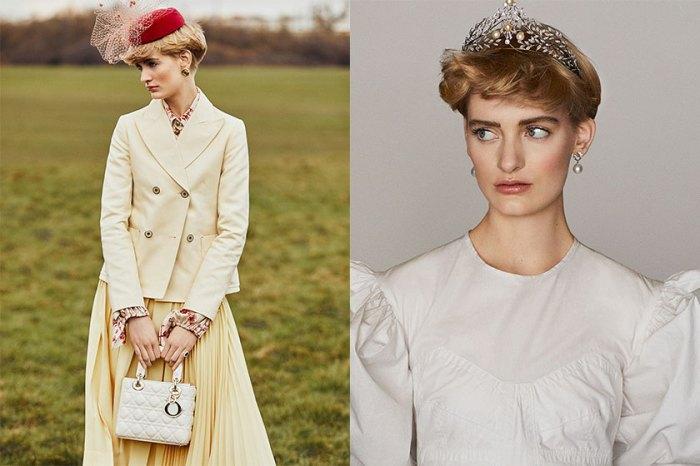女生該有的優雅氣質是這種:《Vogue》推出時尚特輯向戴安娜王妃致敬,她才是真正時尚 Icon!