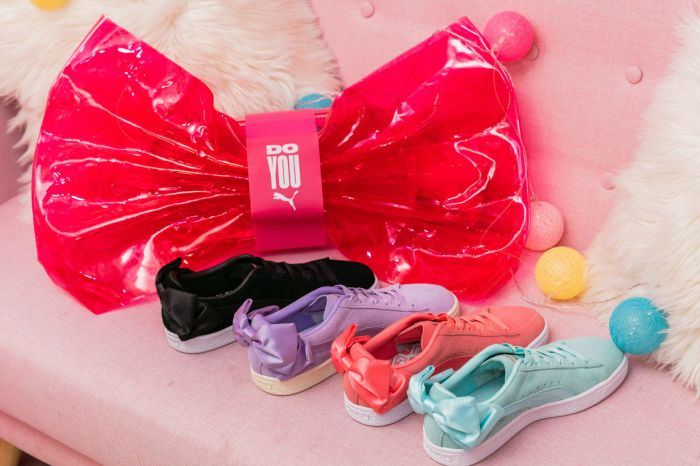 是鞋盒也是手袋!蝴蝶結波鞋升級版 PUMA SUEDE BOW 一次滿足妳的所有願望!