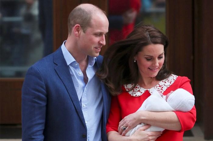 小王子首露面!威廉王子陪伴凱特皇妃,以傳統方式慶祝第 3 個孩子誕生!