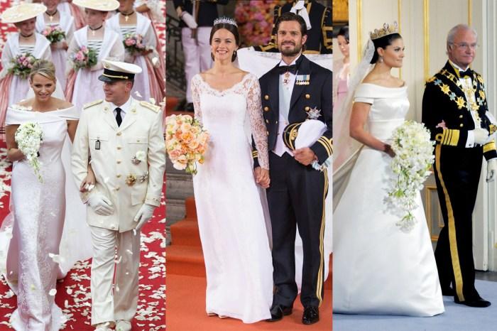 以為公主出嫁都要穿著夢幻婚紗?看看這 30 件來自各國公主、王妃、皇后的婚紗,會顛覆你的想象!