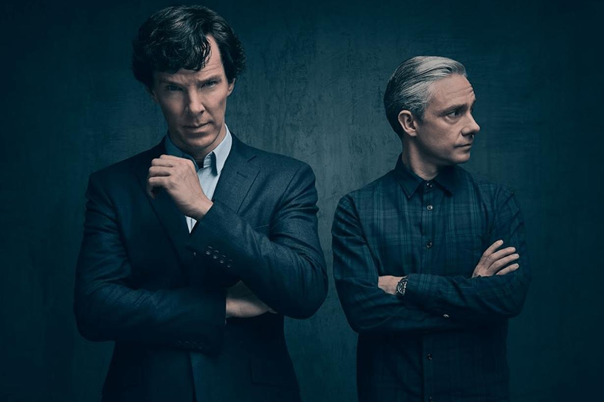 Benedict Cumberbatch Martin Freeman Sherlock drama
