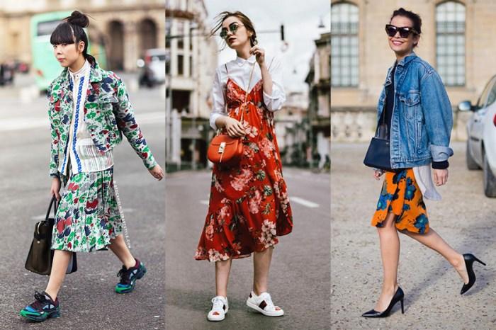 #POPBEE 專題:誰說花卉圖案只可穿出甜美風?今個春夏碎花最時尚的穿法應該是這樣!