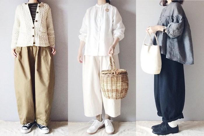 簡約舒適也是一種時尚態度:Follow 這個日本女生,你也能學會寬鬆穿搭術!
