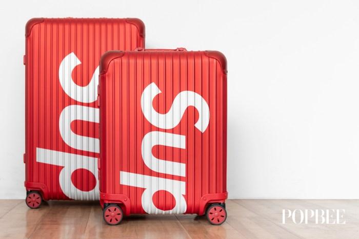 Supreme 與 Rimowa 聯乘推出標誌性紅色行李箱,實物開箱!