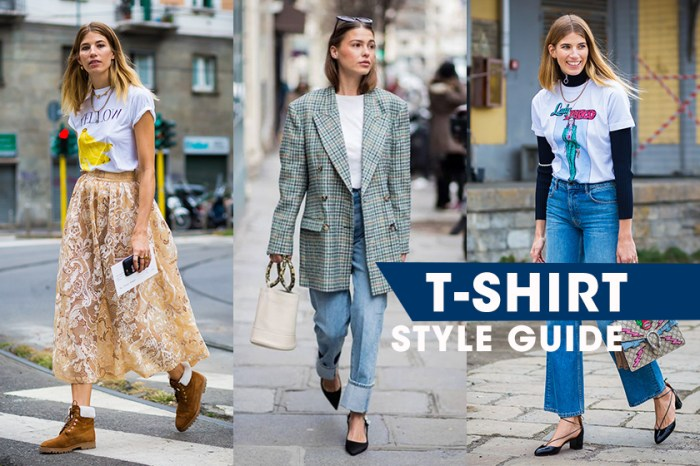 T-shirt 夏日穿搭靈感 20+:人人衣櫃必備的這單品要如何穿出時尚感?試試這些方法!