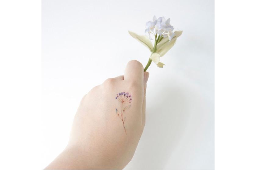 floral tattoo stickers