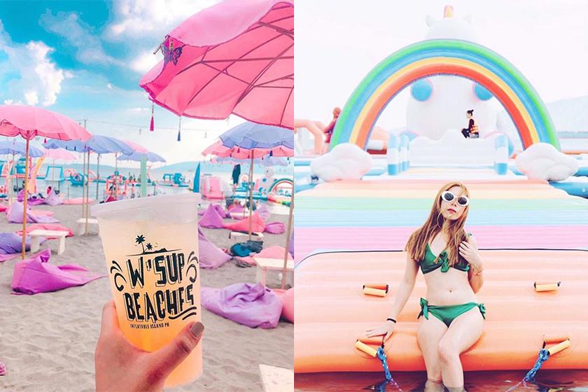 泳衣準備好了嗎?這個 IG 美照專屬的獨角獸沙灘樂園,必定會成為熱點!