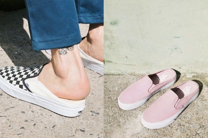 不只是 Slip-On!Vans 驚喜推出 Mule 鞋款,帶你見識「懶人鞋」的最高境界
