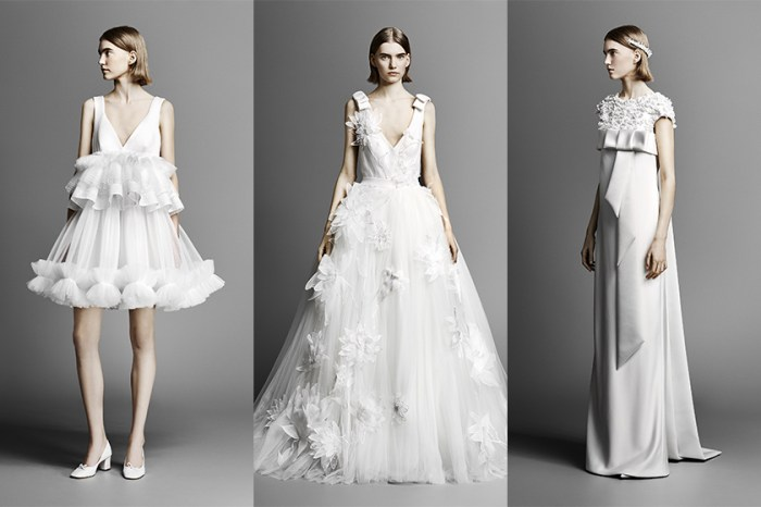 Viktor & Rolf 最新婚紗系列:這些浪漫又唯美的款式,全部都是女生心目中的夢想嫁衣!