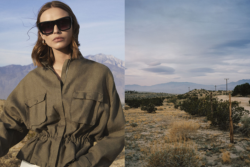 Zara 2018 春夏 Behind the Desert造型目錄 主打大地色系單品