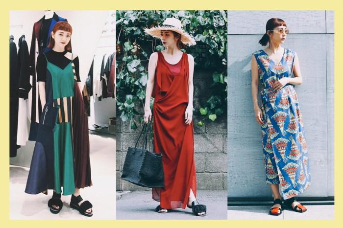 由日本穿搭達人示範:夏季除了白 Tee,「長洋裝」才是懶人的唯一解答!