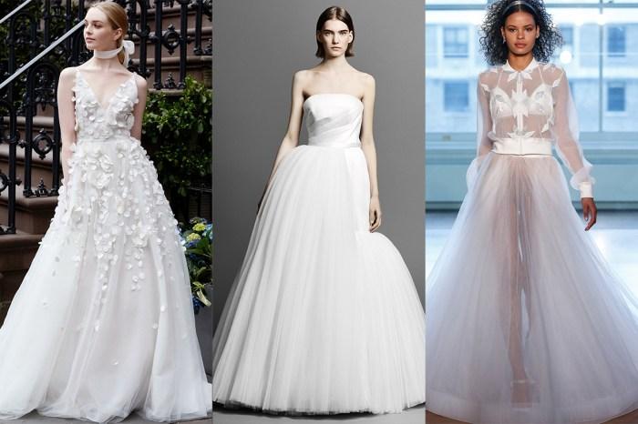 經典風格,還是可以繼續變奏!來看 2019 年春季 6 大婚紗趨勢