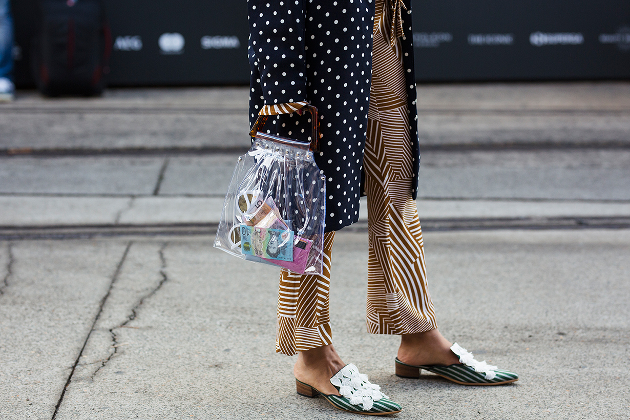 Australian Fashion Week Mercedes-Benz Fashion Week 2018 street style
