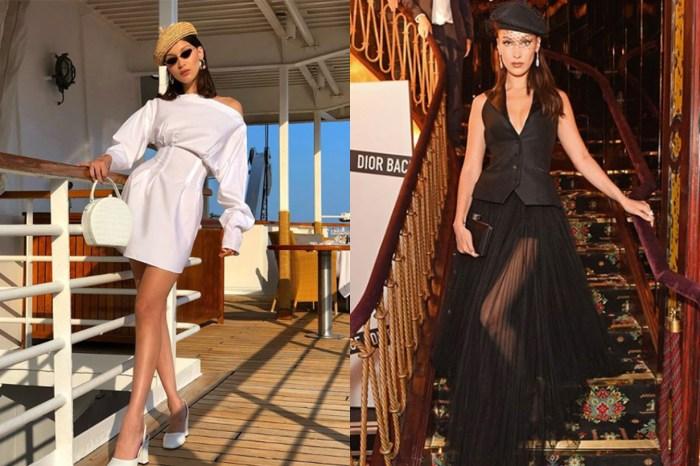 Bella Hadid 也要做法妞!獨特法式穿搭就靠這款配飾