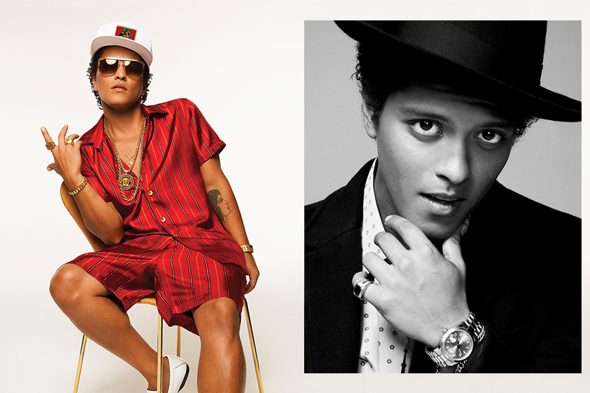 Bruno Mars 24K Magic World Tour Playlist Hong Kong