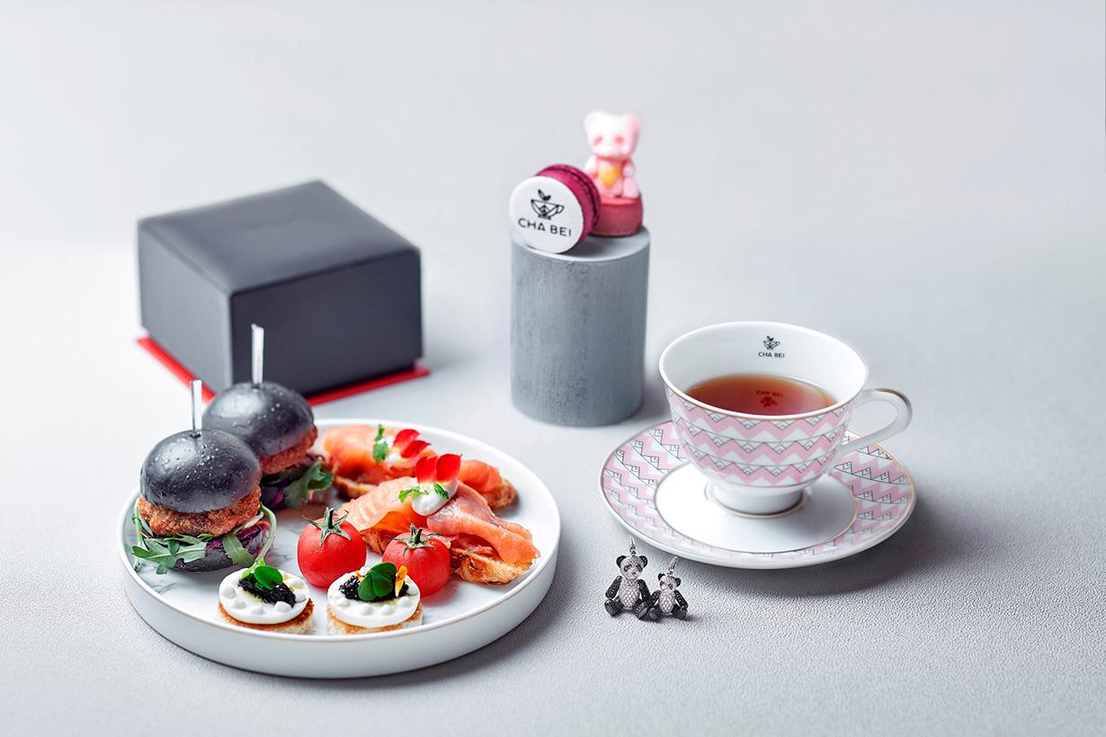 Cha Bei x Qeelin Afternoon Tea Set