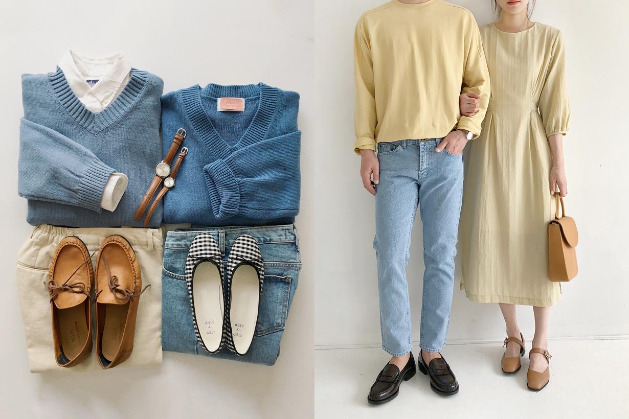 couple style korean onepoundlife minimalist