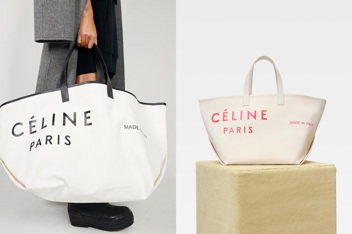 下一款 It Bag 誕生:Céline 推出的 Tote Bag 將會是街拍的寵兒
