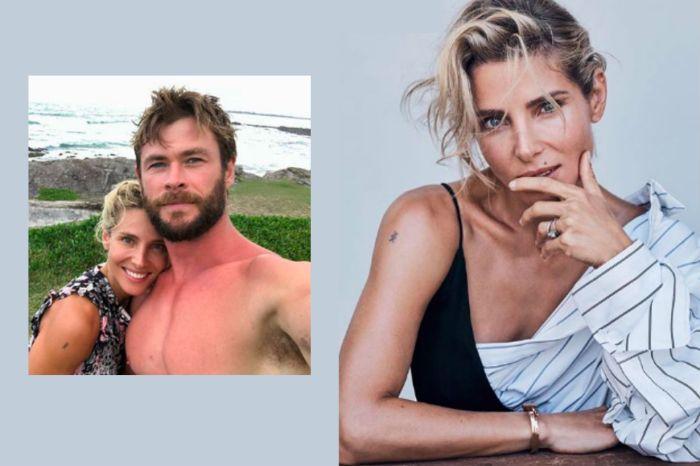 世上真有命中註定? Chris Hemsworth 的妻子早在遇見他之前就刺上了「雷神刺青」!