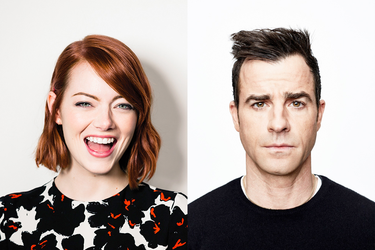 Justin Theroux Emma Stone dating france pictures spotted together