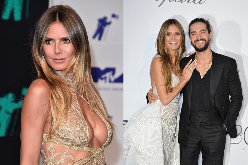 Heidi Klum and Tom Kaulitz Make First Public Appearance Together at Cannes amfAR Gala