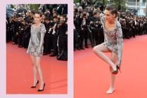 為何 Kristen Stewart 在坎城紅毯上脫掉紅底鞋?不是因為腳痛,而是…