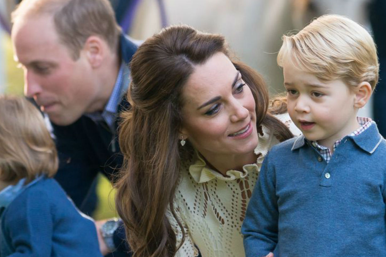 Kate Middleton Just Wore a Gorgeous and Affordable Dress by ZARA on a Day Out With Prince George