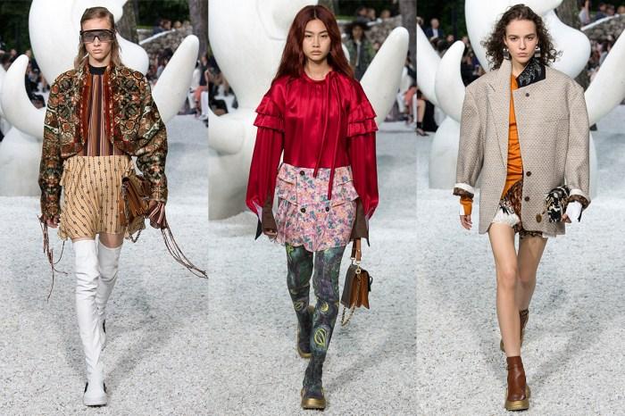 Louis Vuitton 2019 早春女裝,為怪異女生打造不拘一格的時尚風采