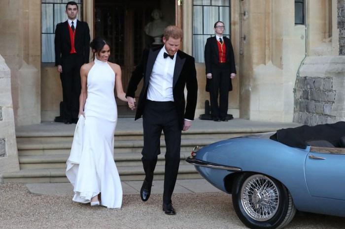 Meghan Markle 身穿 Stella McCartney 全白禮服出席晚宴,極簡設計盡顯高貴!