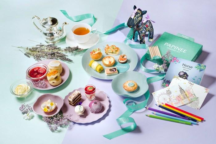 去享受家庭樂吧!港麗酒店與 Papinee 推出充滿童真的下午茶